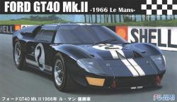 1:24 Ford GT40 MK.II 1966 Le Mans #3 Mclaren/Amon (Chassis #1046)