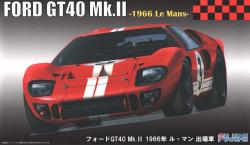 1:24 Ford GT40 MK.II 1966 Le Mans #3 Gurney/Grant (Chassis #1047)
