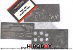 1:24 BMW Z4 GT3 (Fujimi) Photoetched Detail up Set