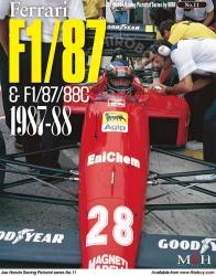 Joe Honda Racing Pictorial Vol #11: Ferrari F1 87/88C 1987-88