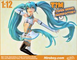1:12 Resin Figure of Hatsune Miku (Goodsmile Racing)