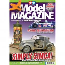 Tamiya Model Magazine - #206 (Pescarola Judd)