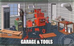 1:24 Garage and Tools (Diorama)