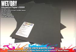 Wet and Dry Abrasive Paper #2000 - 4 off