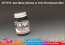 Gun Metal Paint 30ml - Similar to Tamiya X10