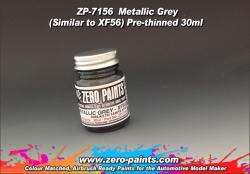 Metallic Grey Paint 30ml -  Similar to Tamiya XF56