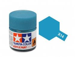 Tamiya Acrylic Mini X-14 Sky Blue (Gloss) - 10ml Jar
