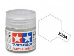 Tamiya Acrylic Mini X-20A Thinner - 10ml Jar