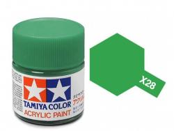 Tamiya Acrylic Mini X-28 Park Green (Gloss) - 10ml Jar