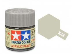 Tamiya Acrylic Mini X-32 Titan. Silver  (Gloss) - 10ml Jar