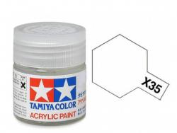 Tamiya Acrylic Mini X-35 Semi Gloss Clear (Gloss) - 10ml Jar