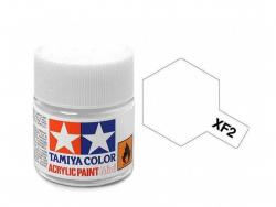 Tamiya Acrylic Mini XF-2 Flat White - 10ml Jar