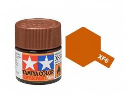 Tamiya Acrylic Mini XF-6 Copper - 10ml Jar