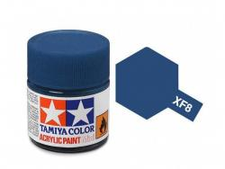 Tamiya Acrylic Mini XF-8 Flat Blue - 10ml Jar