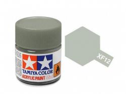 Tamiya Acrylic Mini XF-12 J. N. Grey - 10ml Jar
