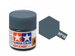 Tamiya Acrylic Mini XF-18 Medium Blue - 10ml Jar
