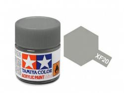 Tamiya Acrylic Mini XF-20 Medium Grey - 10ml Jar