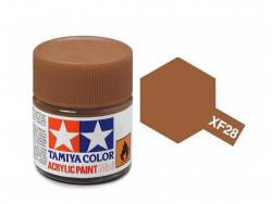 Tamiya Acrylic Mini XF-28 Dark Copper - 10ml Jar