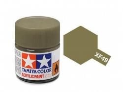Tamiya Acrylic Mini XF-49 Khaki - 10ml Jar
