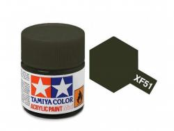 Tamiya Acrylic Mini XF-51 Khaki Drab - 10ml Jar