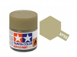 Tamiya Acrylic Mini XF-55 Deck Tan - 10ml Jar