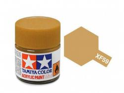 Tamiya Acrylic Mini XF-59 Desert Yellow - 10ml Jar