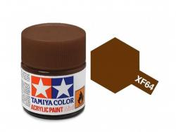 Tamiya Acrylic Mini XF-64 Red Brown - 10ml Jar