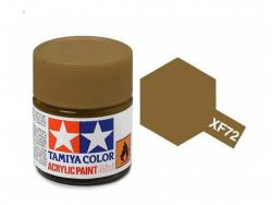 Tamiya Acrylic Mini XF-72 Brown  - 10ml Jar