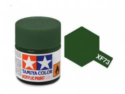 Tamiya Acrylic Mini XF-73 Dark Green  - 10ml Jar