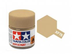 Tamiya Acrylic Mini XF-78 Wooden Deck Tan  - 10ml Jar