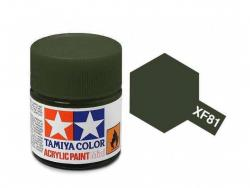 Tamiya Acrylic Mini XF-81 RAF Dark Green 2 - 10ml Jar