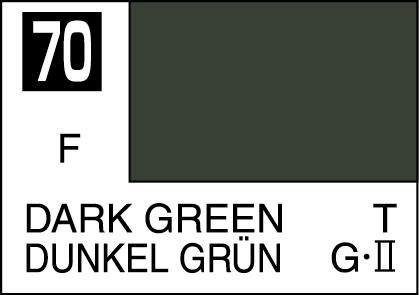Mr Color Paint Dark Green 10ml # C070