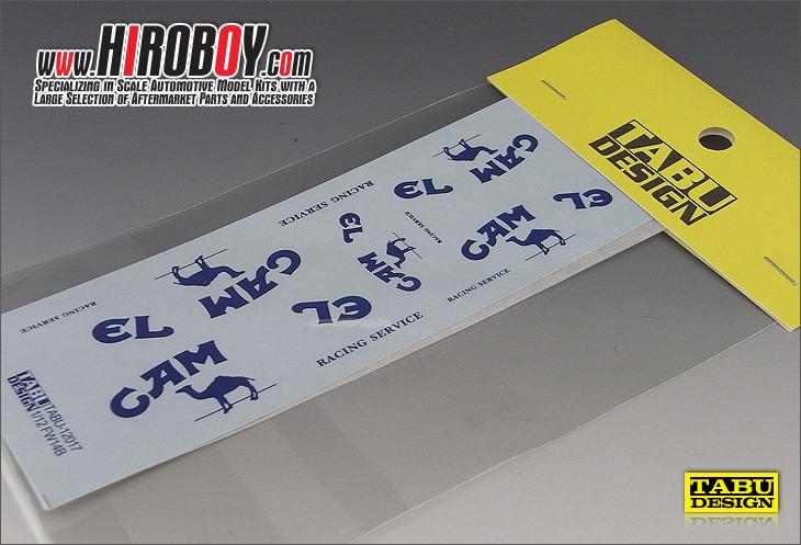 1:12 Camel Sponsor Decals for FW14B