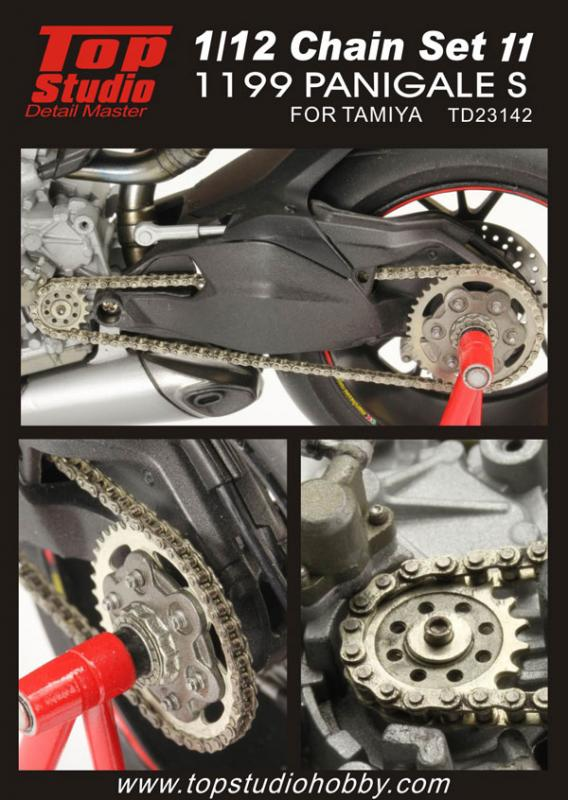 1:12 Ducati 1199 Panigale S Chain Set