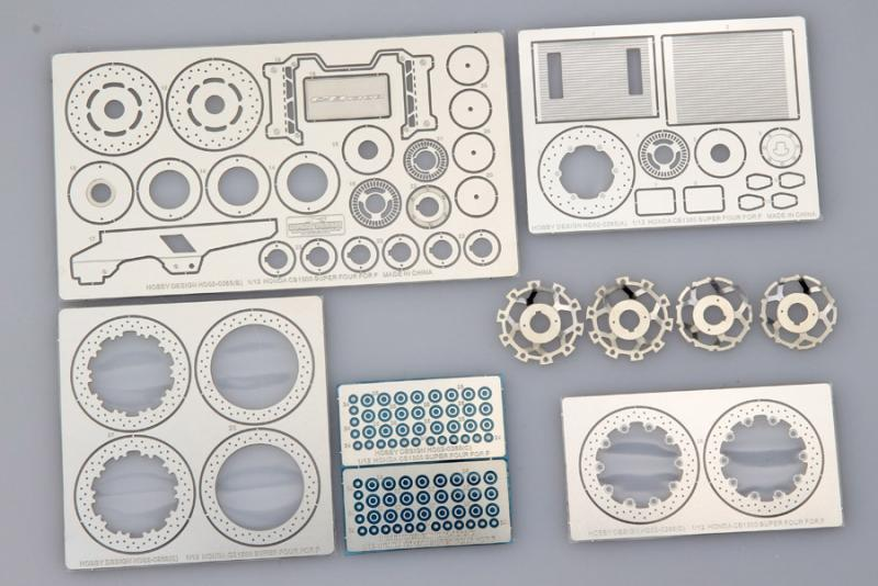 1:12 Honda CB1300 Super Photoetched Detail up set for Fujimi