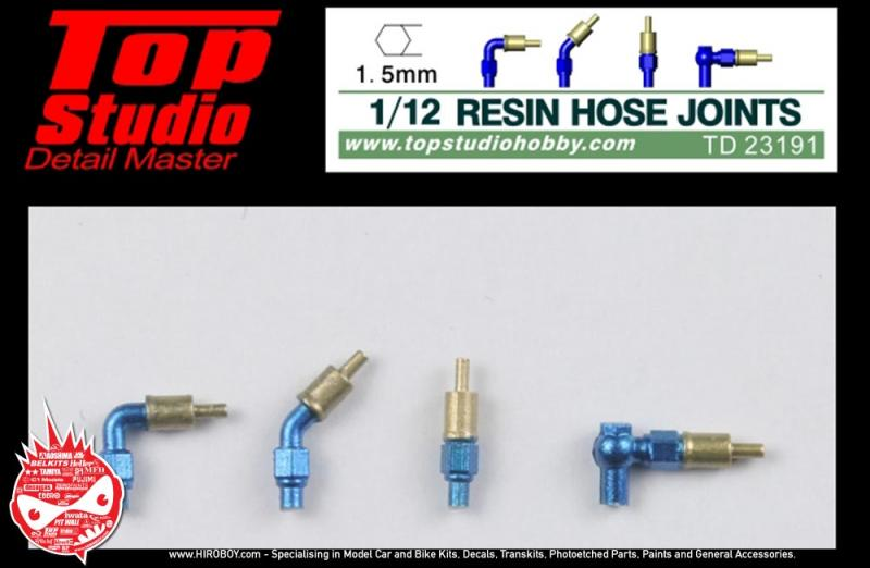 1:12 Resin Hose Joints (1.5mm)