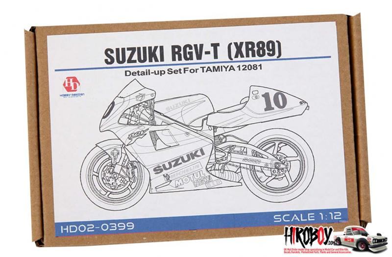 1:12 Suzuki RGV-Γ (XR89) Detail Up Set