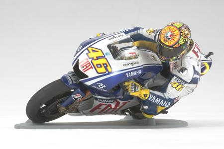 1:12 Valentino Rossi Rider Figure - High Speed Riding Type - 14118