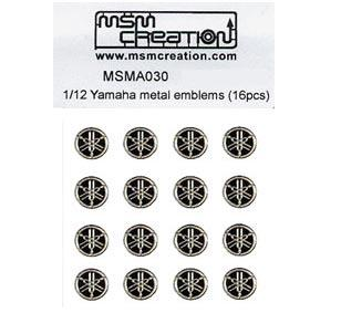 1:12 Yamaha Emblems for YZR-M1 (16 pcs)