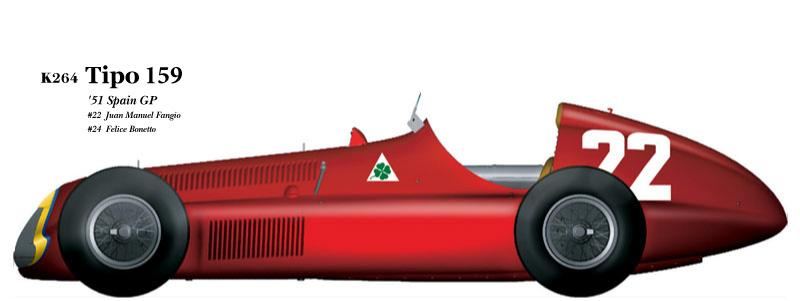 1:20 Alfa Romeo Tipo 159 verA   Full detail Multi-Media Model Kit