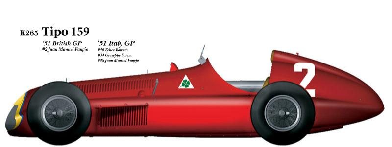 1:20 Alfa Romeo Tipo 159 verB Full detail Multi-Media Model Kit