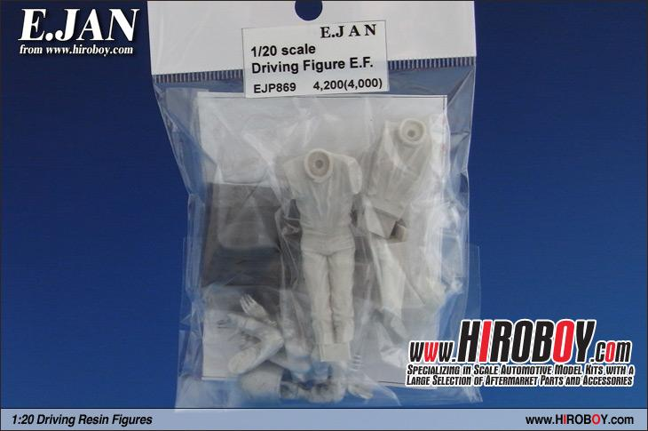1:20 Driving Figure (Emerson Fittipaldi Ver B+C) c/w Decals EJP-869