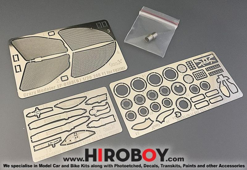 1:20 Ferrari 248 F1 Photoetched c/w Exhausts