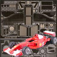 1:20 Ferrari F1-2000 Photoetched Detail Set #8119