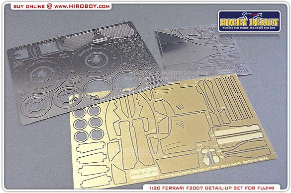 1:20 Ferrari F2007 Photoetched Detail up Set (Fujimi)