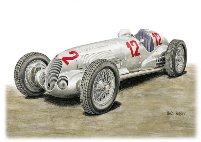 1:20 Mercedes-Benz W125 German Grand Prix 25th July  1937