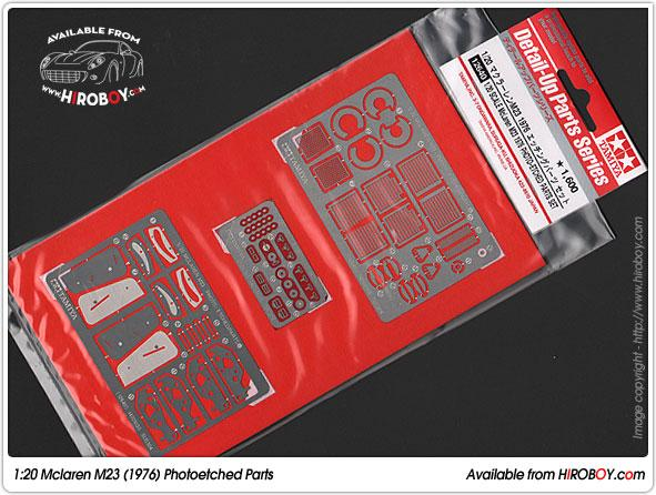 1:20 Mclaren M23 - Photo-Etch Set  12640