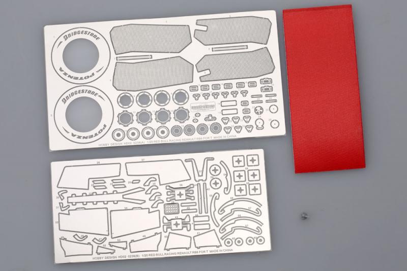 1:20 Red Bull Racing RB6 Detail-up Set for Tamiya