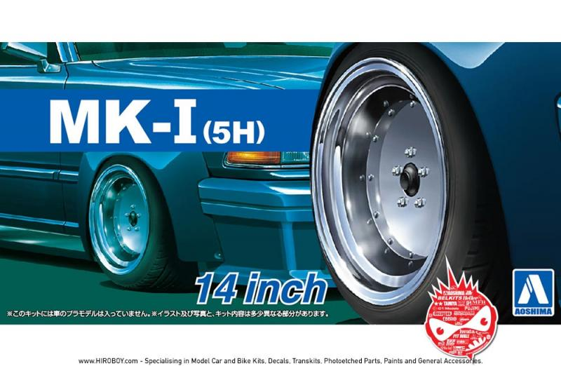 "1:24 14"" SSR MkI (5H) Speed Star Wheels and Tyres"