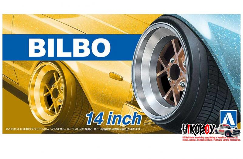 "1:24 14"" Pasco-Fame Bilbo Wheels and Tyres (5H)"